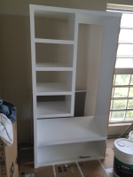 closet system  not installed yet