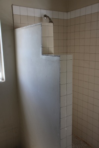 first the OLD bathrooms  were all pretty much like this